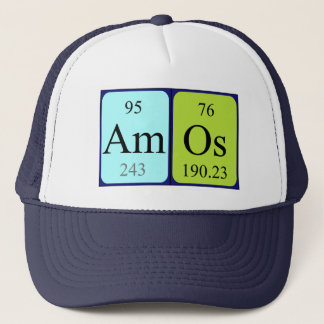 Amos periodic table name hat