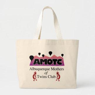 AMOTC - Madre de Albuquerque del club de los gemel Bolsa Tela Grande