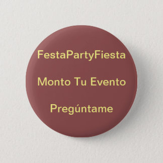 Amount your event pinback button