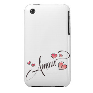 Amour Case-Mate Case iPhone 3 Cover