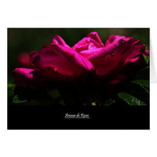 Amour de Roses Card