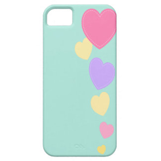Amour Hearts Design Iphone Case | Pastel