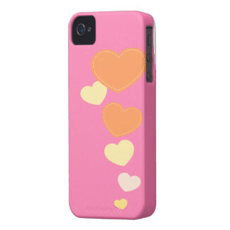 Amour Hearts Design Iphone Case | Pink