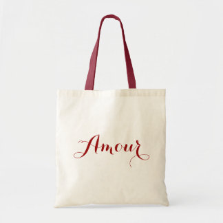 Amour in Red Bag