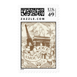 Amour Love Gold by Ceci New York Stamp