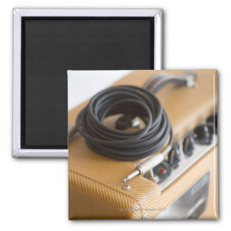 Amp and Cable 2 Inch Square Magnet