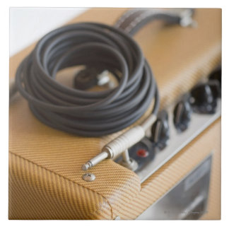 Amp and Cable Ceramic Tile