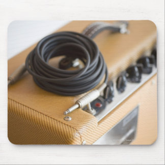 Amp and Cable Mouse Pad