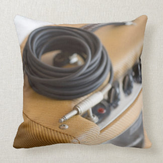 Amp and Cable Throw Pillows