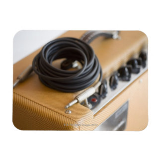 Amp and Cable Rectangular Photo Magnet
