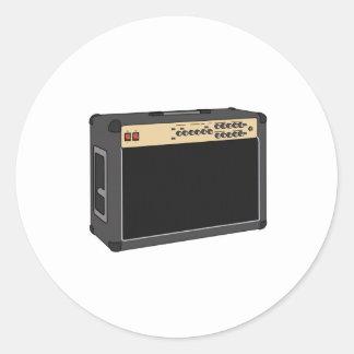 amp classic round sticker