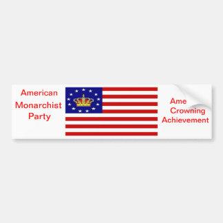 AMP Flag Bumper Sticker