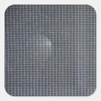 Amp grill cloth square sticker