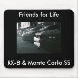 &amp RX8; Monte Carlo, RX-8 y Monte Carlo SS, F… Alfombrillas De Raton