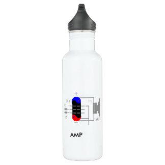 Amp Tube 24oz Water Bottle