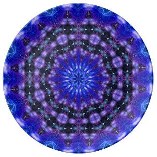 Amped Up Mandala Porcelain Plate