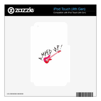 Amped Up Decal For iPod Touch 4G