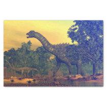 Ampelosaurus dinosaurs tissue paper