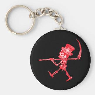 Ampeltödchen2RED:Black Keychains