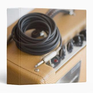 """Amperio y cable carpeta 1 1/2"""""""