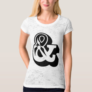 Ampersand And & T-shirt