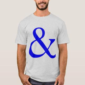Ampersand - Blue T-Shirt