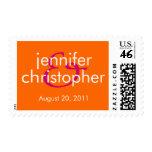 Ampersand :: Bride & Groom Stamp