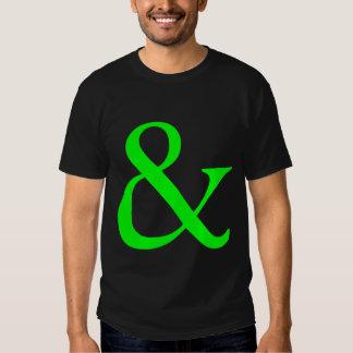 Ampersand - Green T-shirt