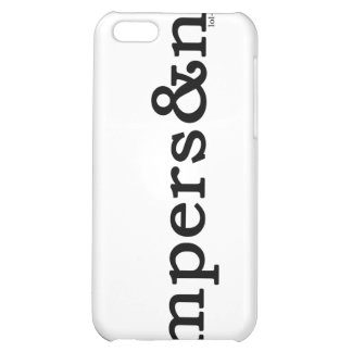 Ampersand iPhone 5C Cover