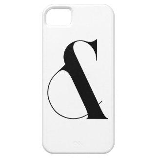 Ampersand Minimalist Modern Art iPhone SE/5/5s Case