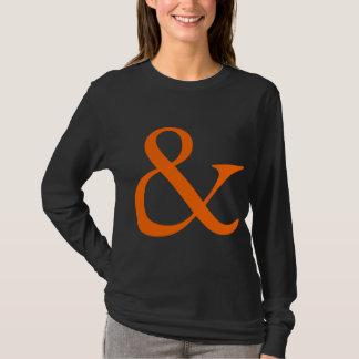 Ampersand - Orange T-Shirt