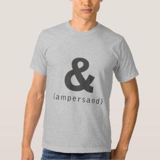 ampersand [ & ] t-shirt