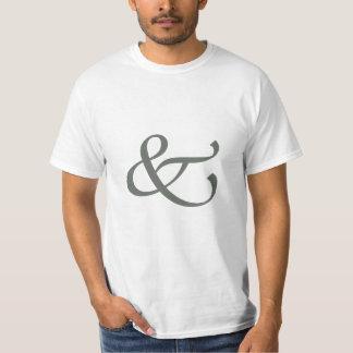 Ampersand . . . & t shirt
