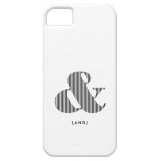 Ampersand Typographic iPhone Case iPhone 5 Cases
