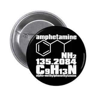 amphetamine pinback button