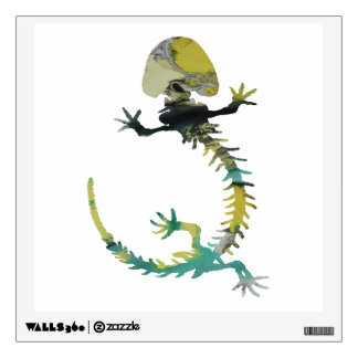 Amphibian Skeleton Wall Decal