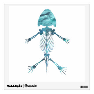 Amphibian Skeleton Wall Sticker