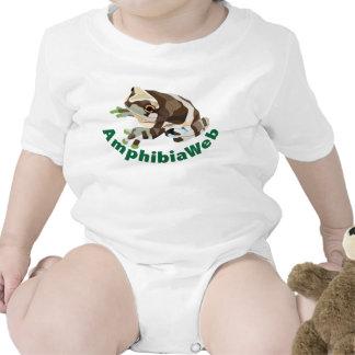 AmphibiaWeb Amazon Milk Frog for babies Baby Bodysuits