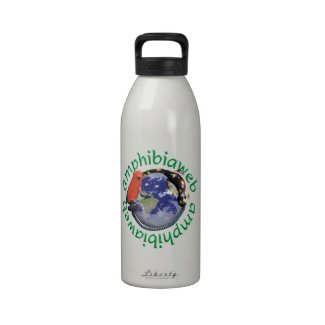 AmphibiaWeb High-def Waterbottle