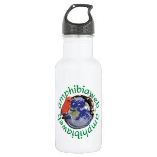 AmphibiaWeb High-def Waterbottle 18oz Water Bottle