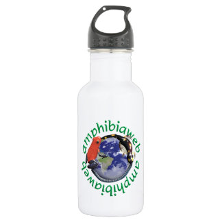 AmphibiaWeb High-def Waterbottle Stainless Steel Water Bottle
