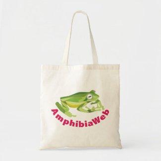 AmphibiaWeb Sabin's Glass Frog Tote Tote Bag