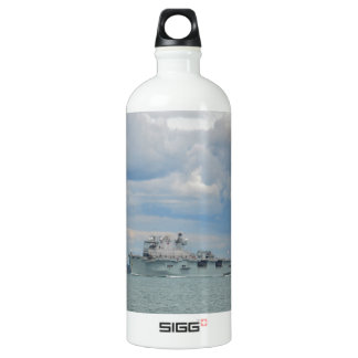 Amphibious Assault Ship Ocean Aluminum Water Bottle