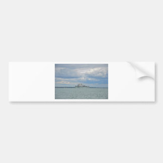 Amphibious Assault Ship Ocean Bumper Sticker