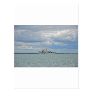 Amphibious Assault Ship Ocean Postcard