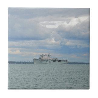 Amphibious Assault Ship Ocean Small Square Tile