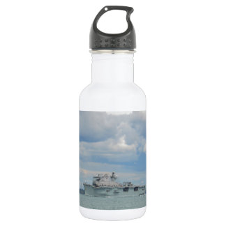 Amphibious Assault Ship Ocean Water Bottle