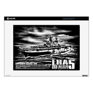 Amphibious assault ship Peleliu Musicskins skin Laptop Skin