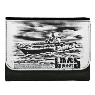 Amphibious assault ship Peleliu Photousa wallet