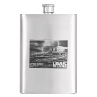 Amphibious assault ship Peleliu Pioc flask